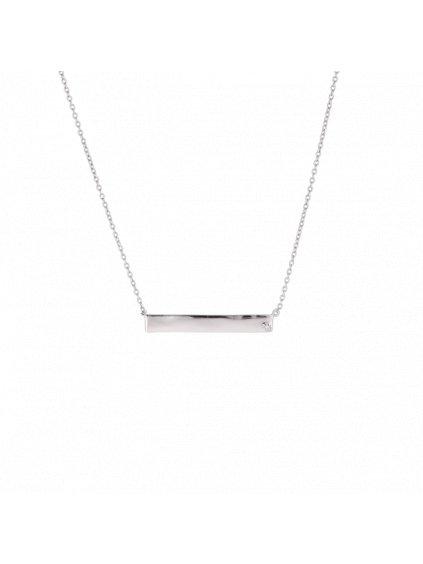 Stříbrný Forever Diamonds náhrdelník