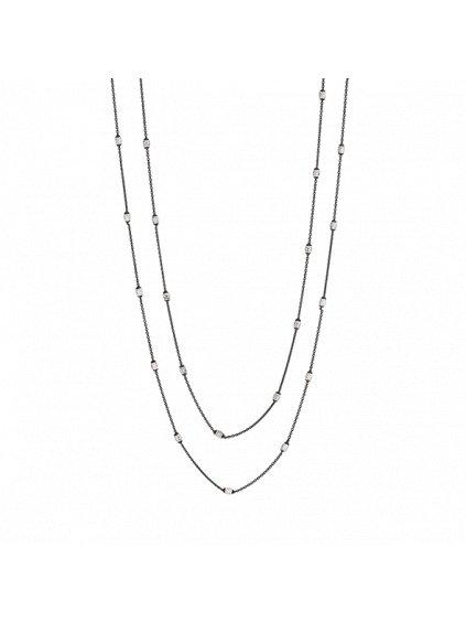 Černý Eternity náhrdelník