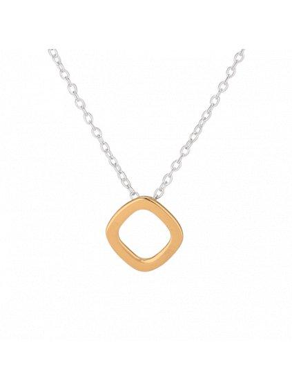 Stříbrný Icon náhrdelník