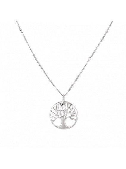 Stříbrný Fire náhrdelník