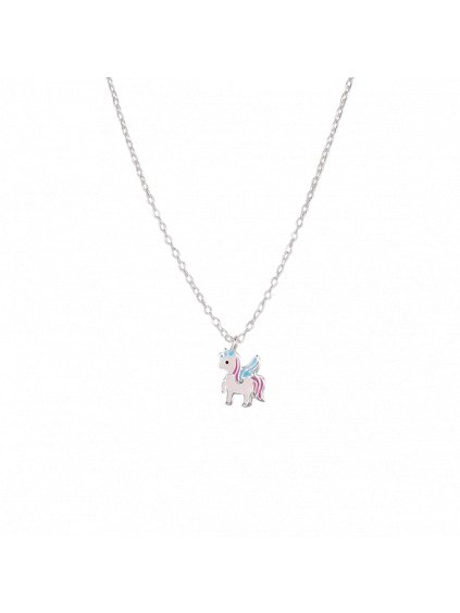 Stříbrný Dětské náhrdelník