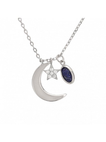 Měsíční Carousel náhrdelník