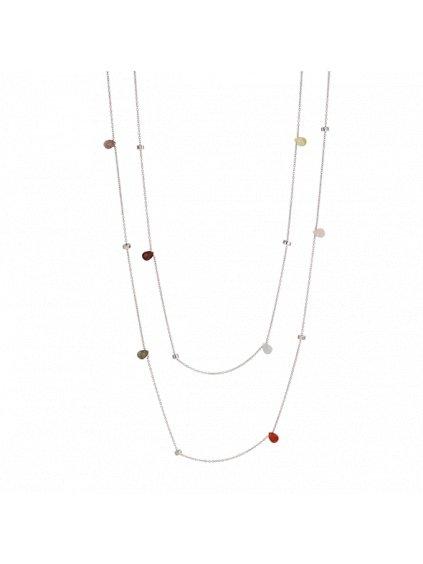 Multi Confetti náhrdelník