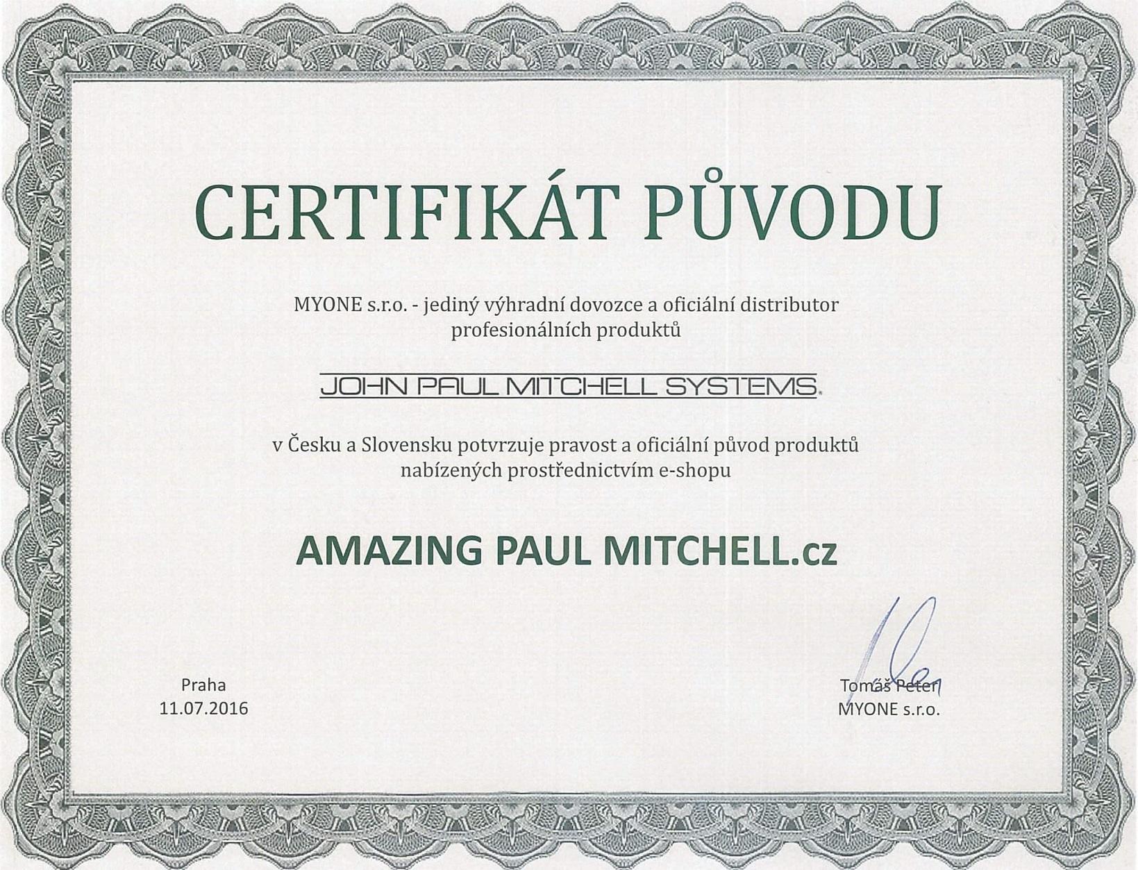 certifikát-otočený