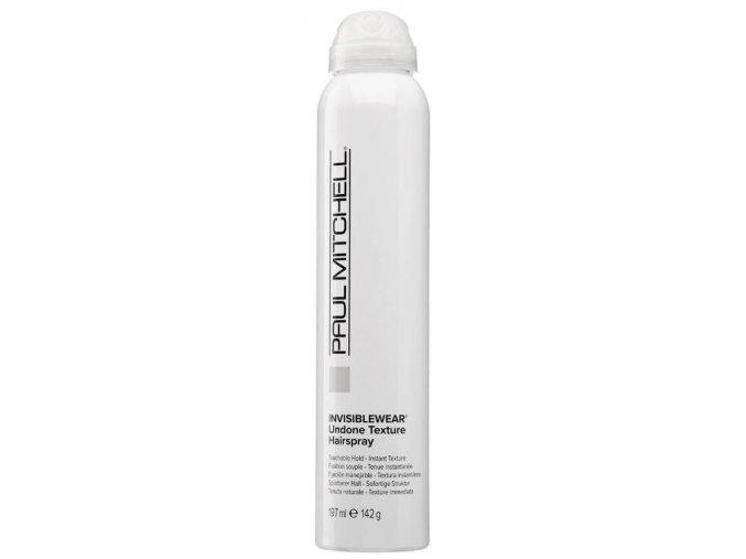 paul mitchell invisiblewear undone texture hairspray 197ml 1241 190 0197 1