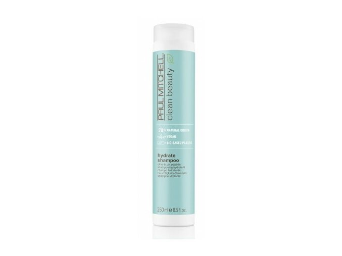 paul mitchell clean beauty hydrate shampoo 250ml