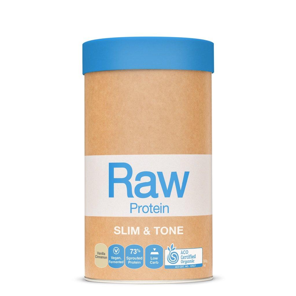 Raw Protein Slim&Tone Vanilla Cinnamon 500g FRONT WEB