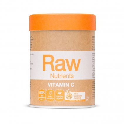 Raw Nutrients VitaminC 120g FRONT WEB