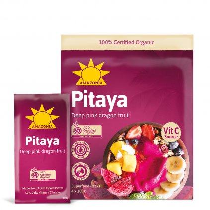 Pitaya Pouch+Sachet 4x100g FRONT WEB