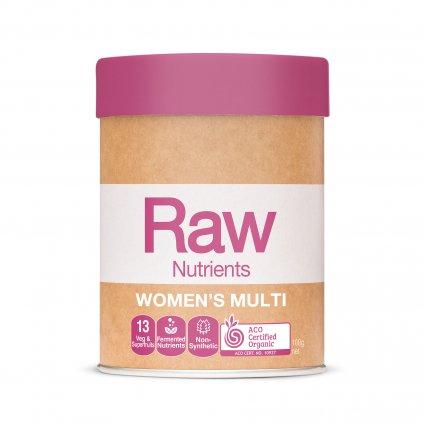 Raw Womens Multi 100g FRONT WEB