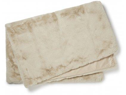 fluffy plaid beige 02