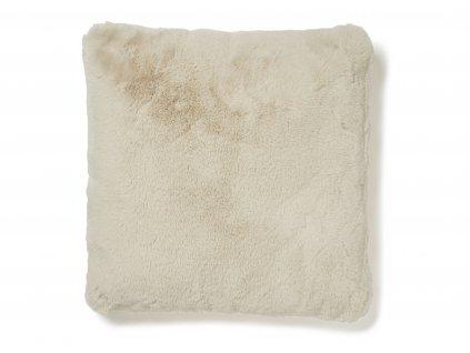 fluffy pillow beige 01