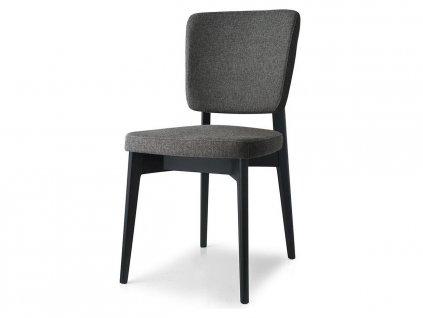 Jídelní židle Escudo, dřevo, látka, CB1526-B (Podnoží Přírodní jasan (dřevo), Sedák Látka Berna - Sand (písková))