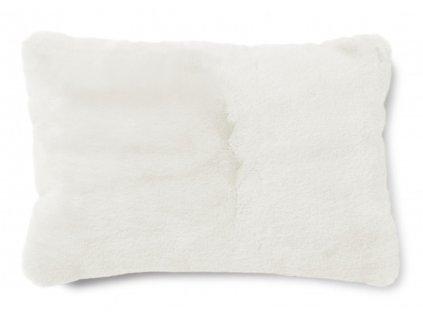 fluffy ivory polštář 60x40 01