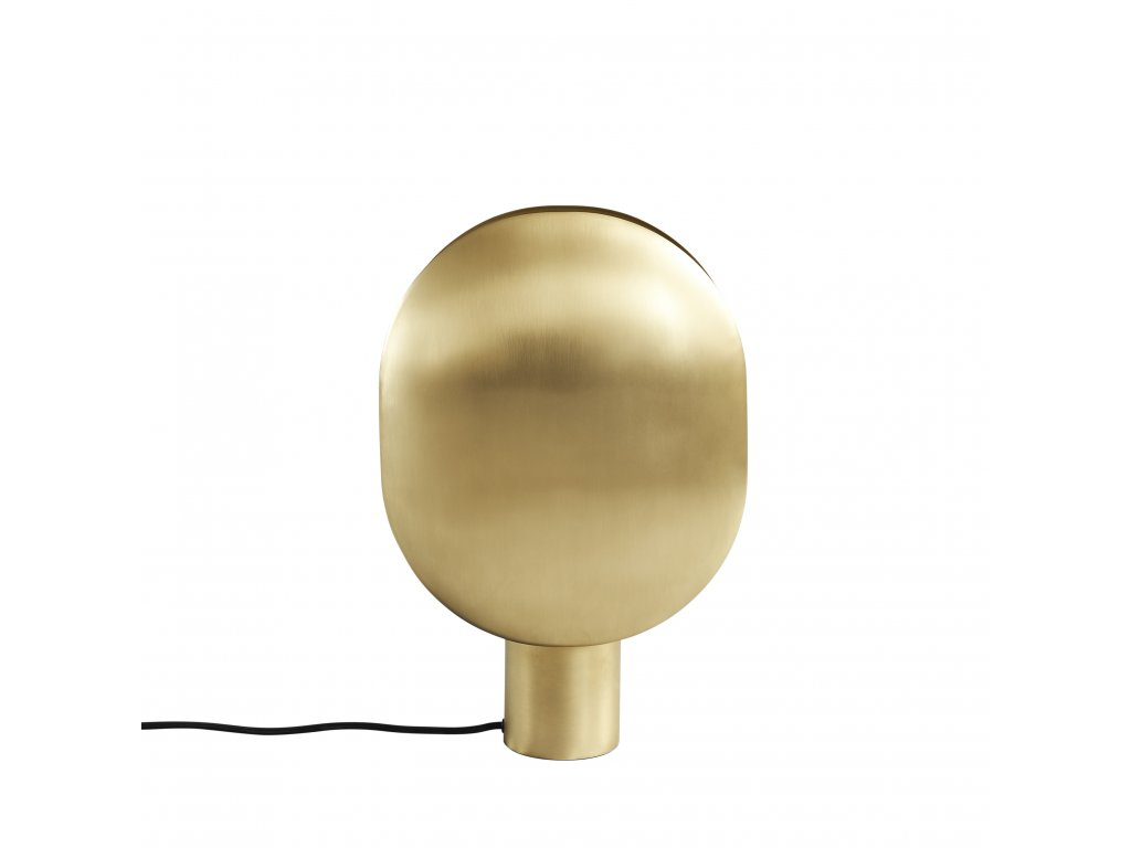 010046 Clam Table Lamp Brass 1