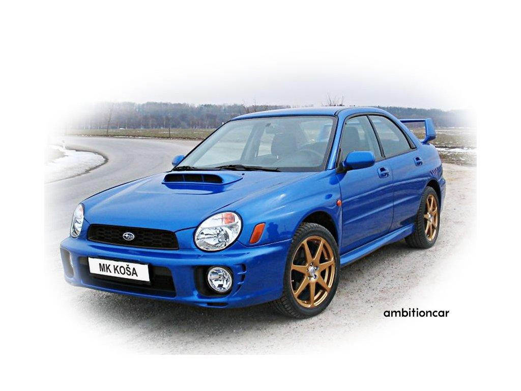 Subaru 2001 nápor kapoty +prahy upr 3