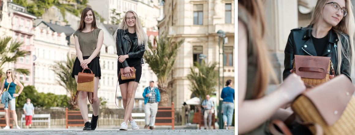 Proutěné kabelky v Karlových Varech