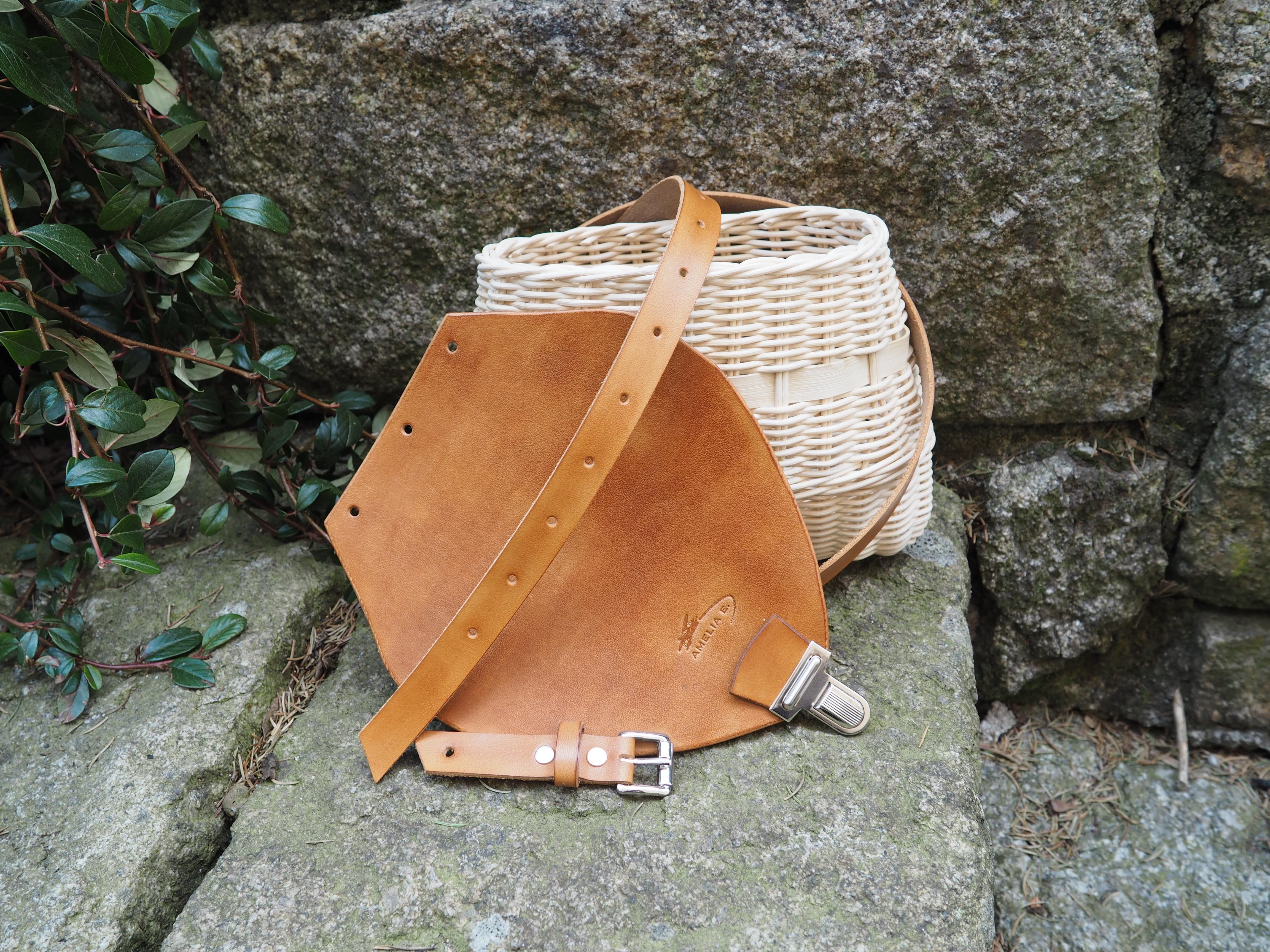 Proutěná kabelka Andrea světlá