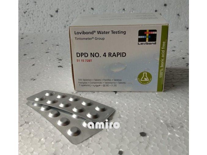 CHEMOFORM DPD 4 Tablety náhr. 1 krabička Lovibond 102300403