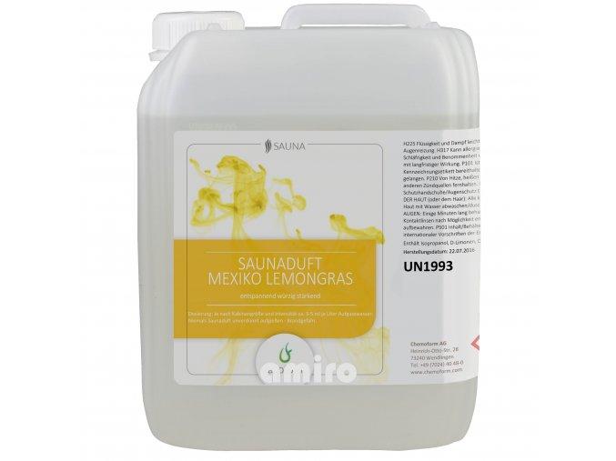CHEMOFORM Esence SA - Mexiko Lemongras 5 l 501408006
