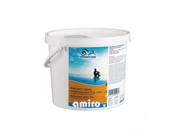 CHEMOFORM BST - Bazénové Super Tablety mini 1 kg 100508601