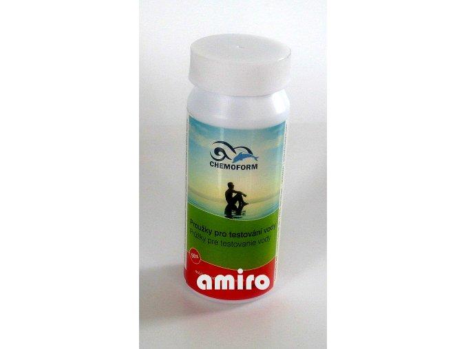 CHEMOFORM Testovací proužky PH/Chlor/Alkalita 502010803
