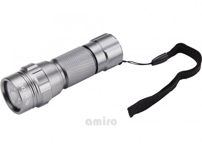 EXTOL PREMIUM svítilna LED, celokovová, MINI, LED dioda, (30 000mcd), hliník 8862111
