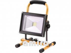 EXTOL LIGHT reflektor LED, nabíjecí s podstavcem, 700/1400lm, Li-ion 43125