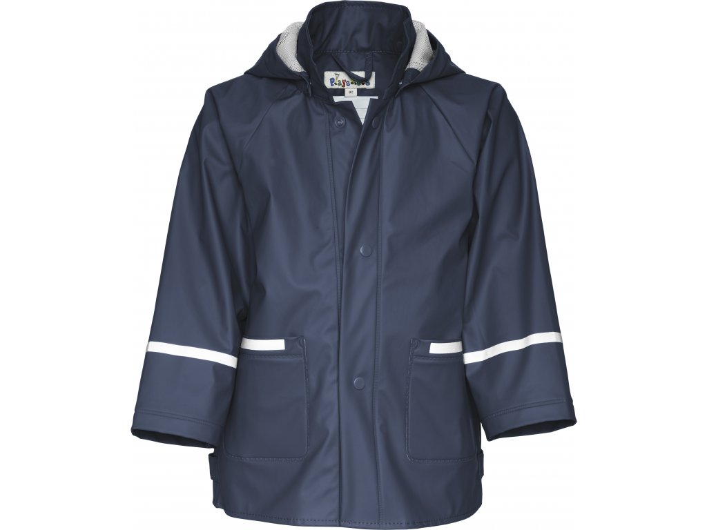 Nepremokava bunda do dažďa BASIC modrá