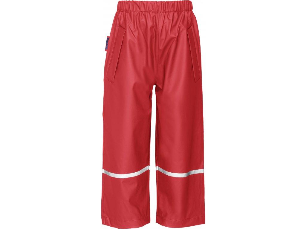 Nepremokavé nohavice do pása červené