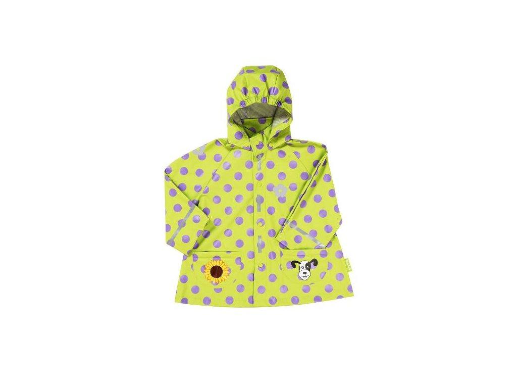 Plášť do dažďa Psík zelený