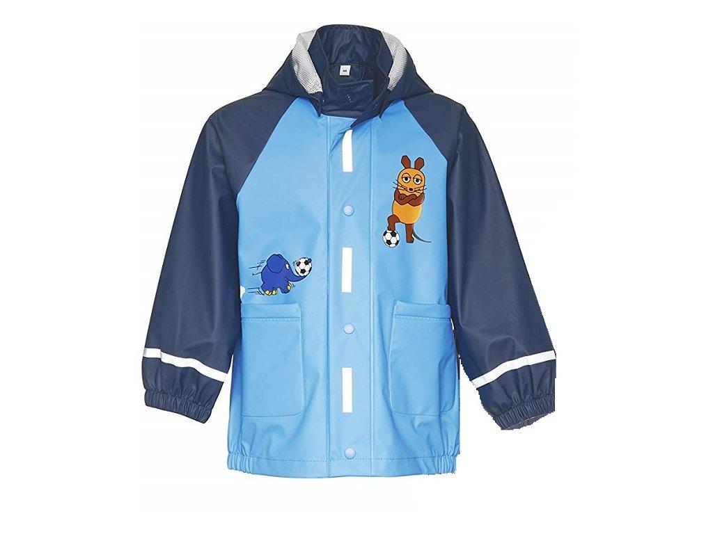 Plášť do dažďa Myška - modrý