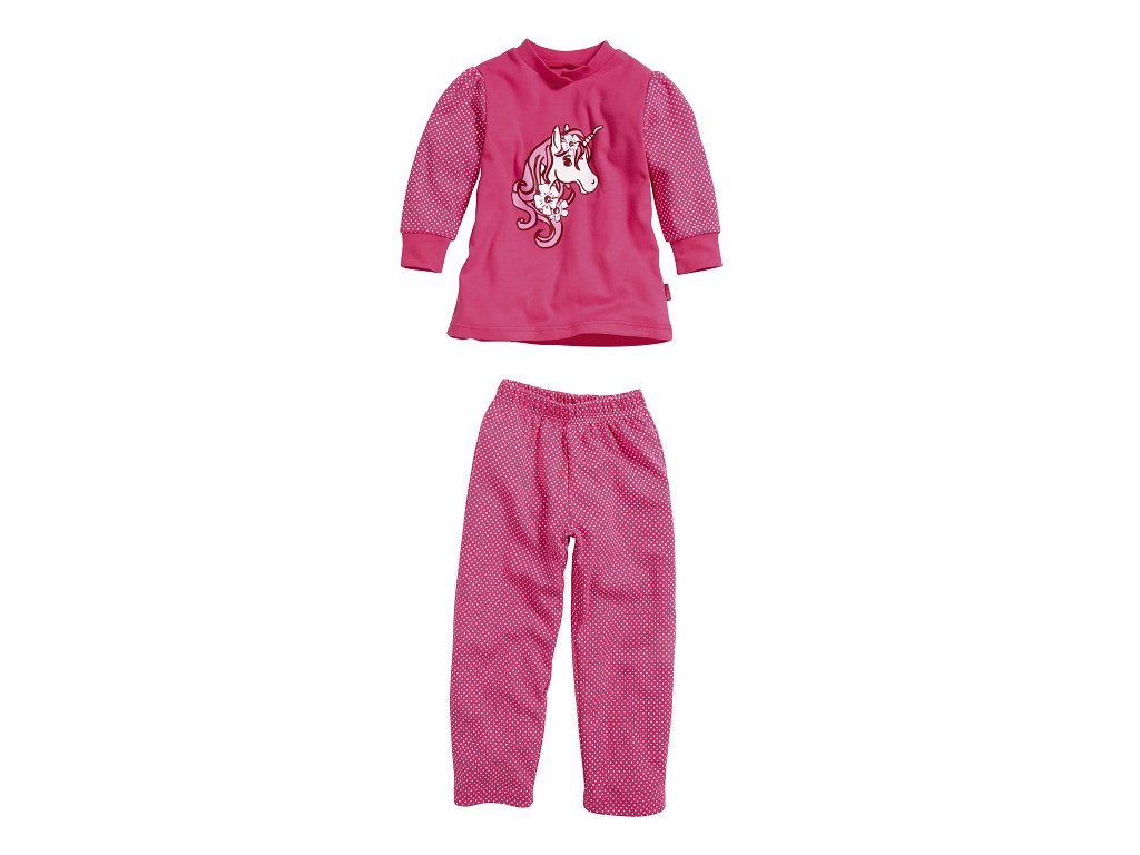 PLAYSHOES Pyžamo Jednorožec č.80-116