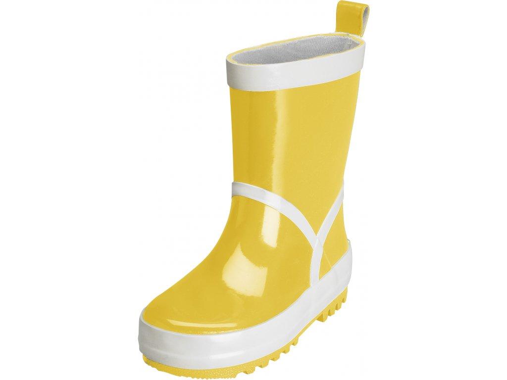 Detské gumáky UNI žlté