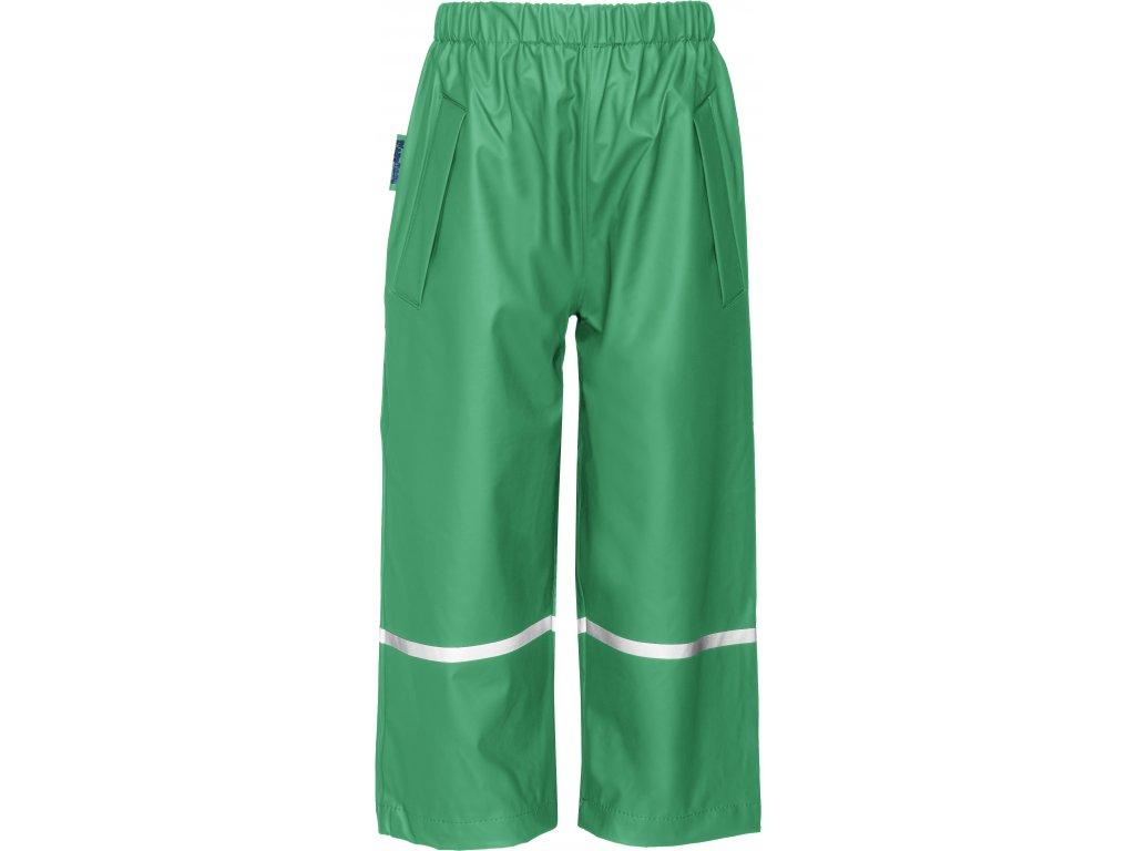 Nepremokavé nohavice do pása zelené