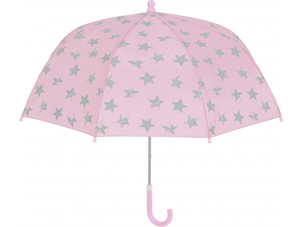 PLAYSHOES Detský dáždnik Hviezda 70cm, ružový
