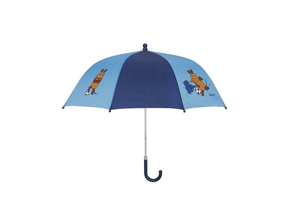 PLAYSHOES Detský dáždnik Myška - modrý 70cm