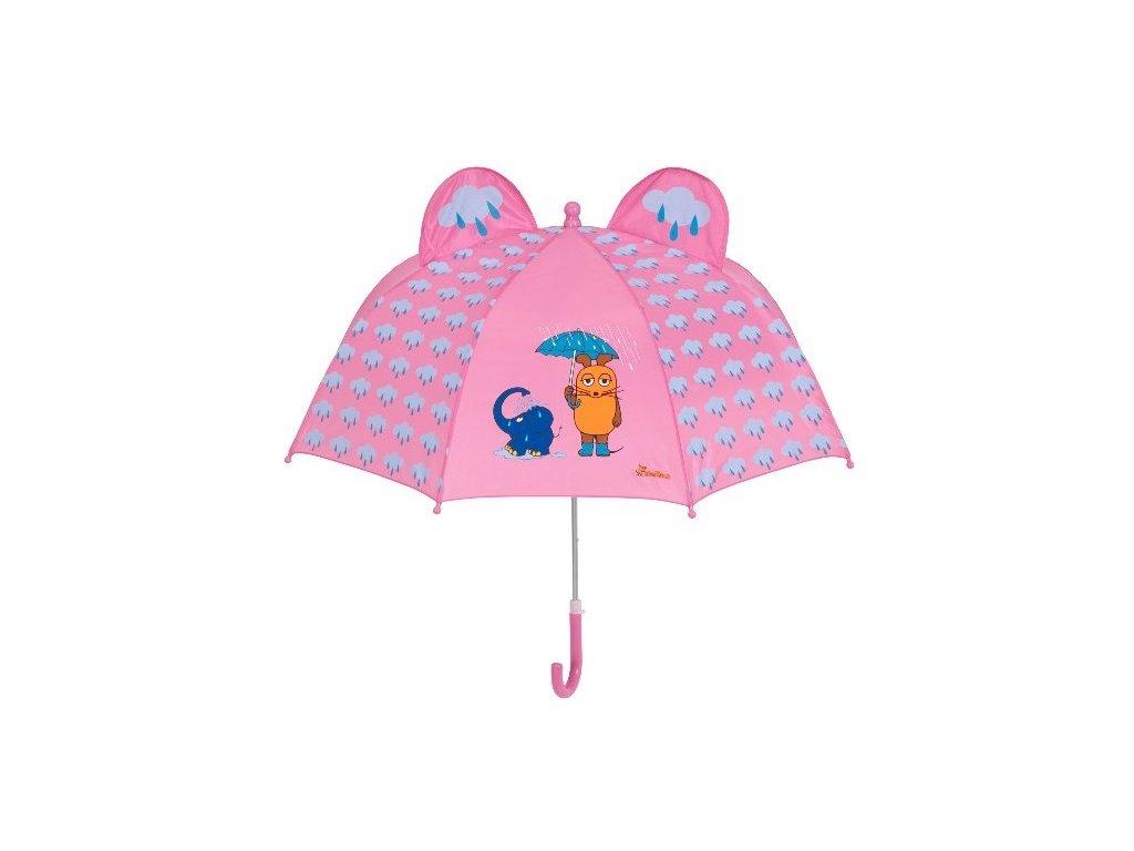 PLAYSHOES Detský dáždnik Myška a slon 70cm
