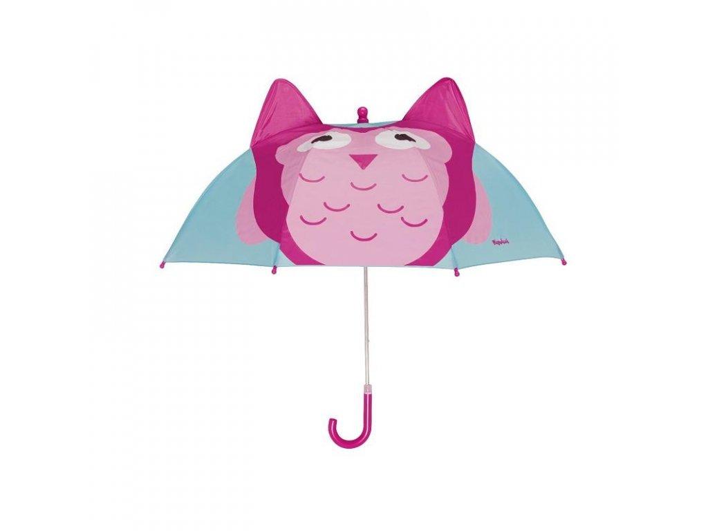 Detský dáždnik Sovička 3D
