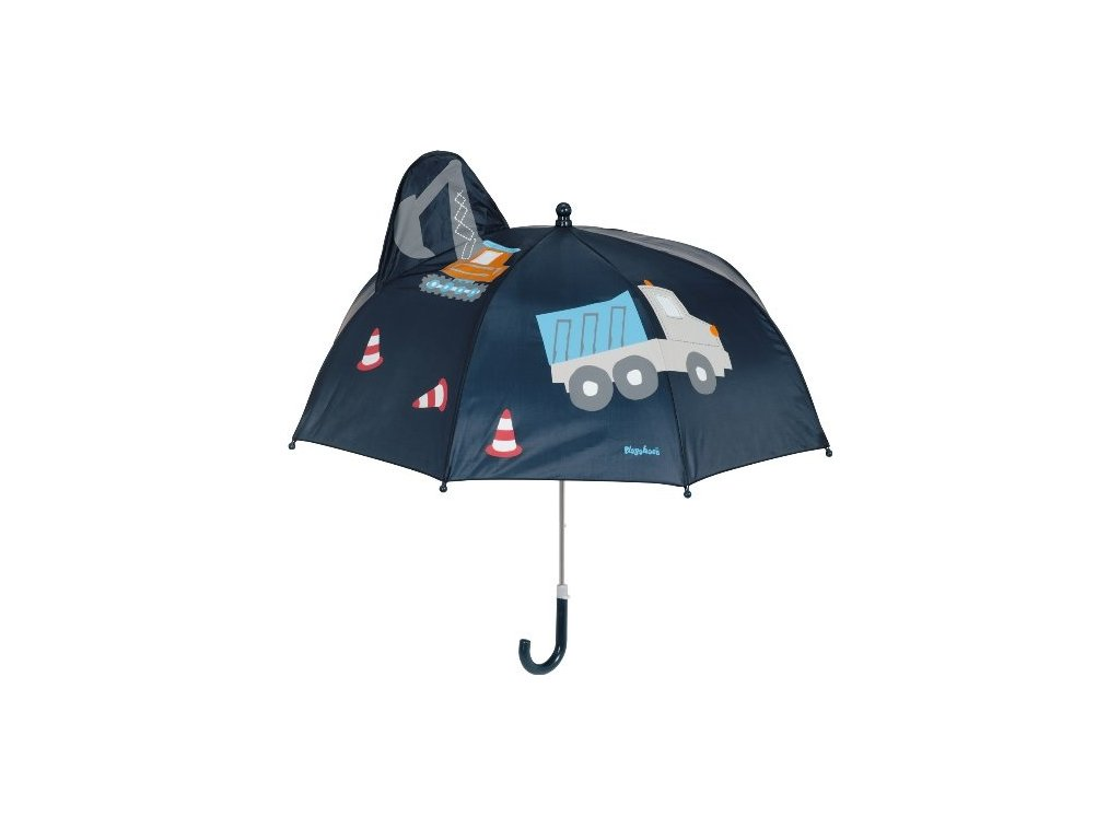 PLAYSHOES Detský dáždnik Stavbár 70cm