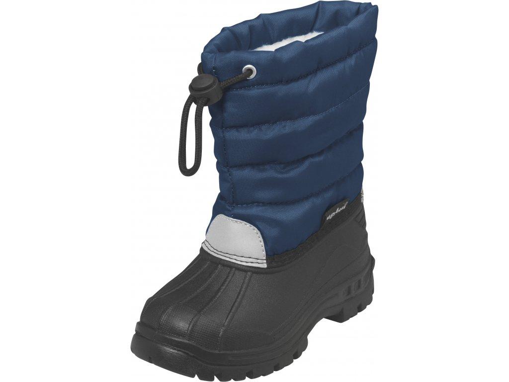 Zimné topánky Winter-Bootie modré
