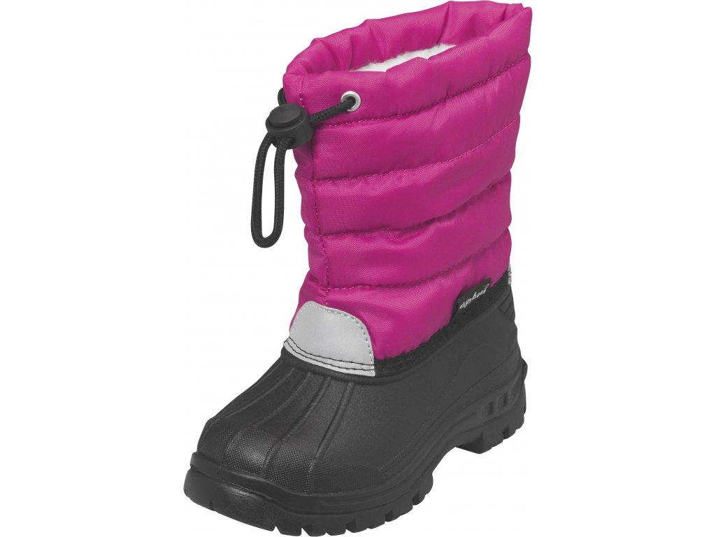 Zimné topánky Winter-Bootie ružové