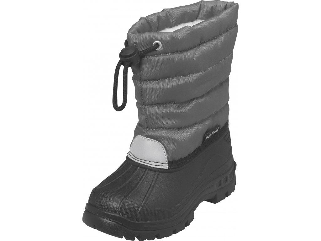Zimné topánky Winter-Bootie sivé