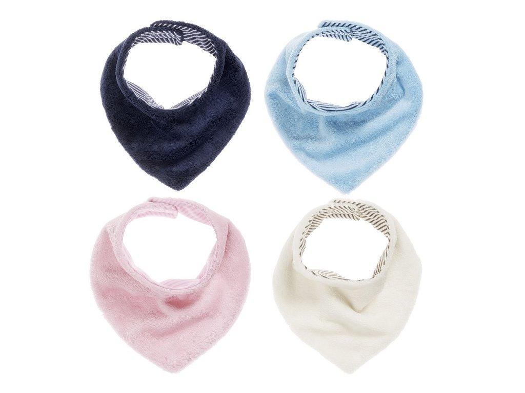 SCHNIZLER Fleecová šatka na krk, farba: ružová