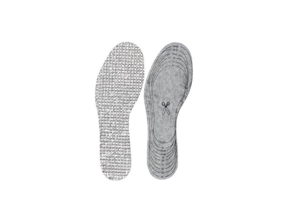 Termo vložky do topánok