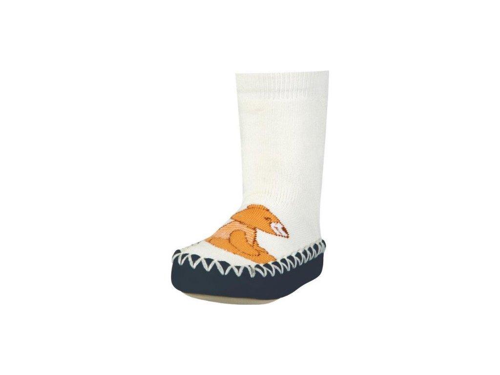 Protišmykové ponožky-papuče Medvedík