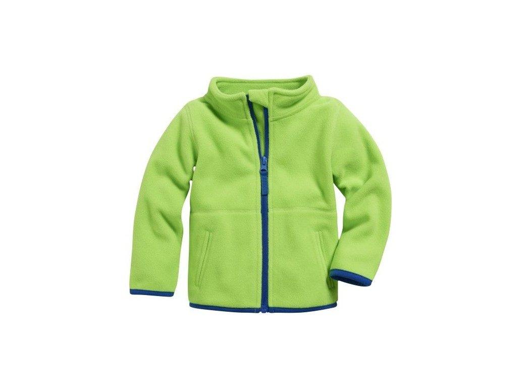 1219129 playshoes detska mikina 860202 green znacky playshoes