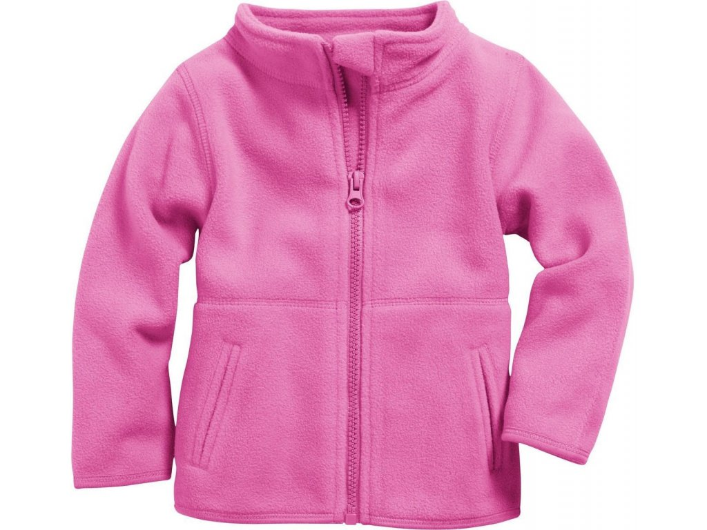 XXL1 schnizler fleece jacket uni pink