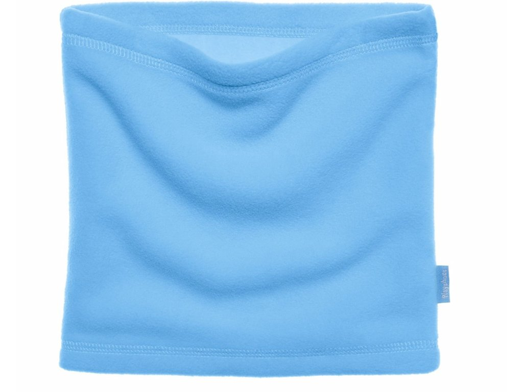 Fleecový nákrčník modrý