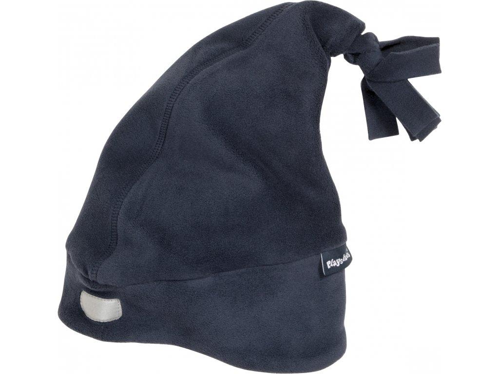 Fleecová čiapka tmavomodrá